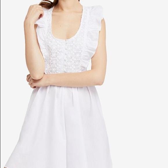 Free People Dresses & Skirts - Free People Half Moon Mini Dress
